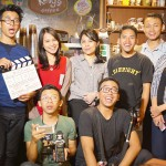 Syuting di Kelly's Coffee bersama @ikramarki @hanibocil @koharotv @stupidoism @_iFad