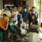 Di produksi ke-4, dibantu oleh teman-teman RED Network: @aulion @benakribo @vendryana, Brian dan juga ada @nonamerah.