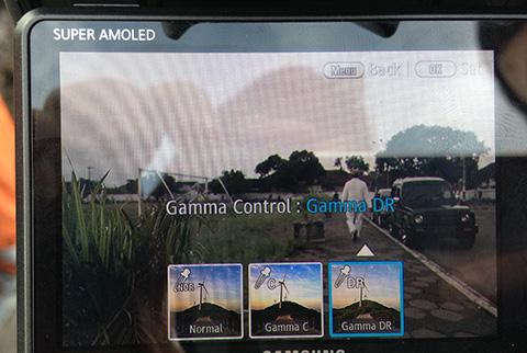 Ubah Gamma Control ke Gamma DR